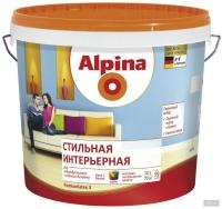 """Краска водоэмульсионная """"Alpina""""Premiumlatex 3  Стильная интерьерная, 2,35л (База 3)"""