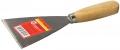 Шпательная лопатка ТЕВТОН с деревянной ручкой 120мм