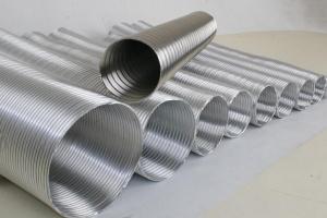 Труба алюминиевая вентиляционная Ф115