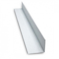 Угол пластиковый белый 15  2,7 м