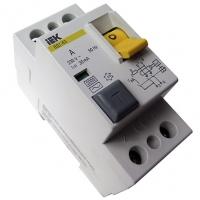Выключатель дифференциального тока  2п  32А тип АС ВД1-63 ИЭК