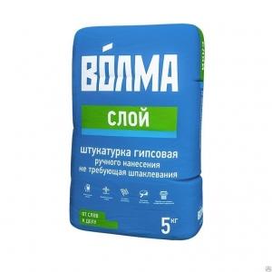 """Штукатурная смесь """"ВОЛМА-СЛОЙ"""" 5кг"""