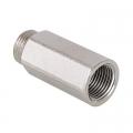 198 Удлинитель никель 1/2х20 мм  ХРОМ
