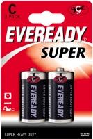 Батарейки солевые LR14 BL2 Eveready